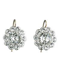 Alexis Bittar - Metallic Paste Stone Flower Earring - Lyst