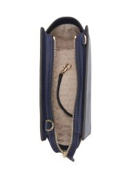 MICHAEL Michael Kors | Blue Selma Medium Messenger - Navy | Lyst
