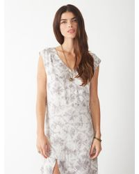 Alternative Apparel - Gray Hibya Taki Wash Dress - Lyst
