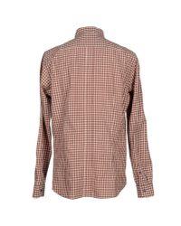 Zegna Sport - Orange Shirt for Men - Lyst