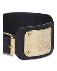 Vivienne Westwood | Dark Brown Leather Cuff for Men | Lyst