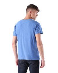DIESEL | Blue T-tossik for Men | Lyst