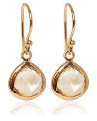 Dinny Hall | Metallic Gold Vermeil Citrine Jaipur Drop Earrings | Lyst