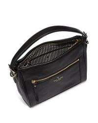 Kate Spade | Black Small Harris Leather Satchel | Lyst