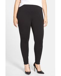 Lyssé | Black Moto Ponte Leggings | Lyst
