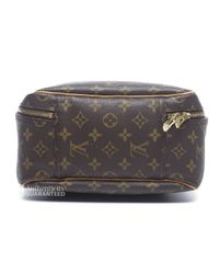 Louis Vuitton - Brown Pre-owned Monogram Canvas Excursion Shoe Bag - Lyst