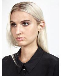 Kristen Elspeth | Metallic Silver Bar Ear Pin | Lyst