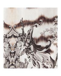 Roberto Cavalli - Multicolor Boboli Printed Silk Skirt - Lyst