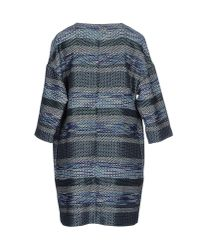 Pf Paola Frani - Blue Full-length Jacket - Lyst
