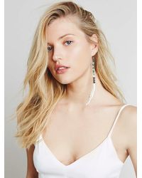 Free People | Metallic Sun + Glory Womens Santa Ana Earrings | Lyst