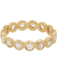 Irene Neuwirth - Metallic Diamond Ring - Lyst