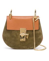 Chloé - Brown 'drew' Shoulder Bag - Lyst