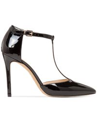 Vince Camuto | Black Nihal T-strap Sandals | Lyst