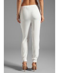 By Malene Birger - Sexy Stretch Cosyh Pant in White - Lyst