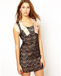 Traffic People | Pink Streamer Lace Dress | Lyst