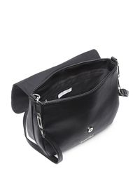 Kenneth Cole Reaction - Black Replicator Saddle Bag - Lyst