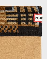 Hunter | Multicolor Knitted Tartan Socks | Lyst