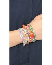 Hipanema - Multicolor Rainbow Bracelet Multi - Lyst