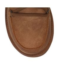 UGG Brown Lodge Water-Resistant Suede Boots