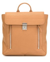 3.1 Phillip Lim - Natural 'pashli' Backpack - Lyst