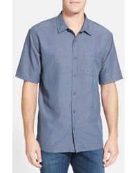 Jack O'neill | Blue 'ixtapa' Regular Fit Short Sleeve Woven Sport Shirt for Men | Lyst