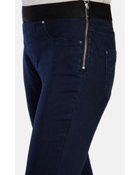 Karen Millen | Blue Denim Jegging | Lyst