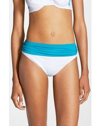 Tommy Bahama - Blue 'Deck Piping' Bikini Bottoms - Lyst