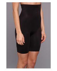 Tc Fine Intimates - Black Even More® Triple-ply Midriff Hi-waist Thigh Slimmer 499 - Lyst