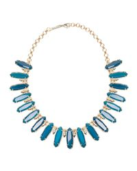 Kendra Scott | Blue Gabriella Statement Necklace | Lyst