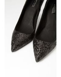 Forever 21 | Black Glitter Pumps | Lyst