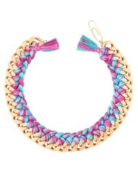 Aurelie Bidermann | Blue Do Brasil Necklace | Lyst