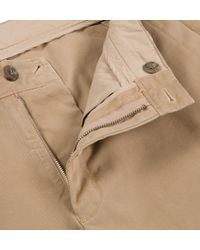 Sunspel | Natural Men's Cotton Twill Chino Trouser for Men | Lyst