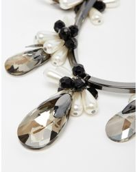 Coast | Black Maggie Choker Necklace | Lyst