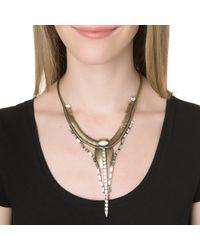Lionette | Metallic Talia Necklace | Lyst