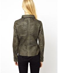 Doma Leather - Black Leather Shirt with Pockets - Lyst