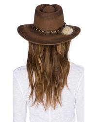 Ále By Alessandra - Brown Roxy Dene Hat - Lyst