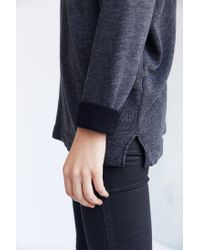 Truly Madly Deeply - Black Jennie Off-the-shoulder Sweatshirt - Lyst