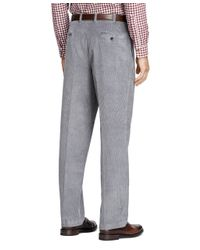 Brooks Brothers | Gray Clark Fit 8-wale Corduroys for Men | Lyst