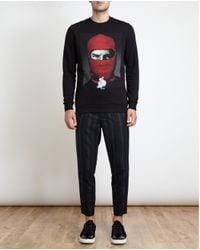 Les Benjamins | Black Steve Jobs Sweatshirt for Men | Lyst