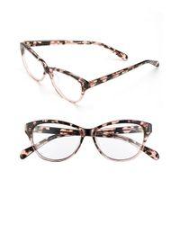 Corinne Mccormack - Pink 'jenna' 50mm Reading Glasses - Lyst