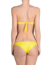Agogoa - Yellow Bikini - Lyst