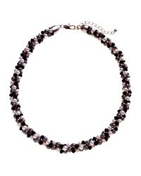 John Lewis | Black Twist Faux Pearl Necklace | Lyst