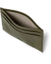 Mulberry - Green Leather Cardholder for Men - Lyst