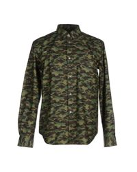 Golden Goose Deluxe Brand | Green Shirt for Men | Lyst