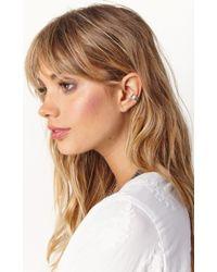 Natalie B. Jewelry | Metallic Venice Ear Cuff | Lyst