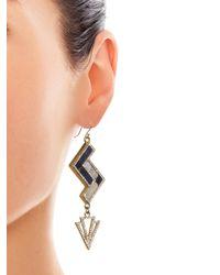 Lulu Frost - Multicolor Ravenna Geometric Drop Earrings - Lyst