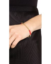 Aurelie Bidermann | Pink Soho Bracelet Red | Lyst
