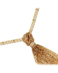 Solange Azagury-Partridge | Metallic Tassle Necklace | Lyst