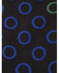 Paul Smith - Black Hollow Polka Dot Socks for Men - Lyst