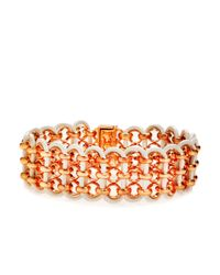 Henri Bendel - Red Essex Bracelet - Lyst